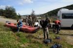 Voorbereiding voor de kanotocht