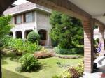 Binnenplaats van ons hotel in Baños